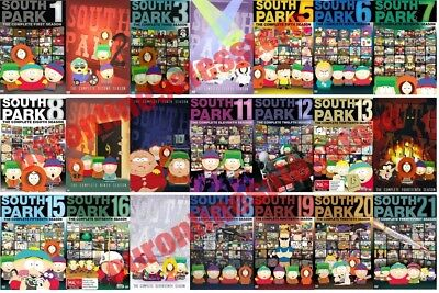 South Park TV Series Complete All 1-21 Seasons DVD Set Collection Episodes Show