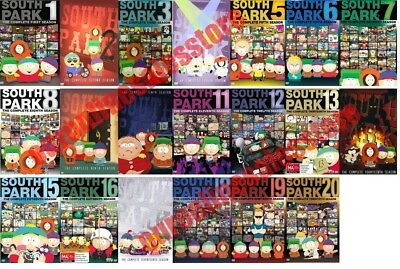 South Park TV Series Complete All 1-20 Seasons DVD Set Collection Episodes Show