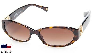 6018f4dcc7922 NEW COACH HC8012 HOPE 500113 TORTOISE   BROWN LENS SUNGLASSES 53-15-140  B32mm