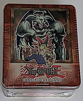 2002 YUGIOH Tin SUMMONED SKULL SET Never Opened