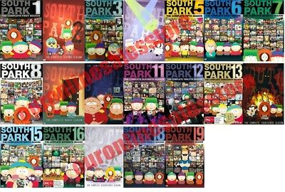 South Park TV Series Complete All 1-19 Seasons DVD Set Collection Episodes Show