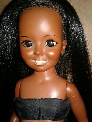 Vintage  Ideal  Crissy African American Doll. Hair that grows