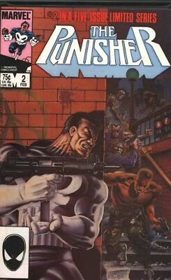 Punisher Limited Series NM+ condition  Mike Zeck cover Netflix Marvel 1986