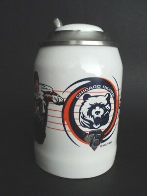 Chicago Bears 75th Anniversary Stein 1920-1994 Sportsteins Numbered edition mug
