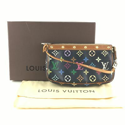 d2c190eeadf3 Authentic Louis Vuitton Multicolor Accessories Pouch Pochette Accessoires  68583