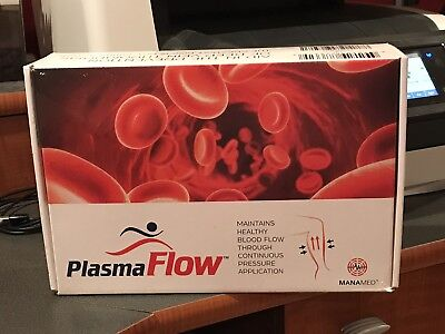 Plasma Flow By Manamed Dvt Prevention Therapy System For Both Legs