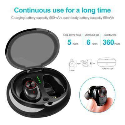 TWS Dual Earphone Mini Wireless Bluetooth Headset Sports Earbuds For Android IOS