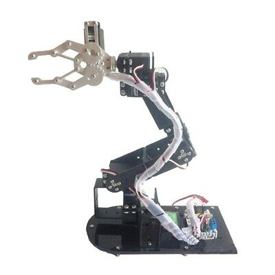 6DoF Mechanical Robot Arm Gripper Claw Robotic Manipulator DIY Kits //Servo