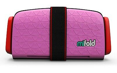 mifold Grab-and-Go Car Booster Seat, Perfect Pink | BRAND NEW/OPENED BOX