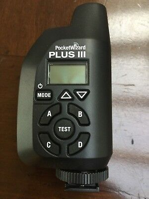 PocketWizard Plus III (black) - never been used