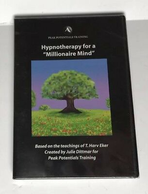 """Peak Potentials Training: Hypnotherapy for a """"Millionaire Mind"""", 2003, CD - NEW"""