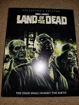Land of the Dead blu ray used Shout Factory slipcover