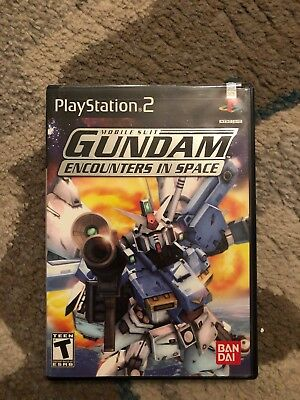 Mobile Suit Gundam: Encounters in Space (Sony PlayStation 2, 2003)
