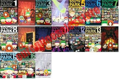 South Park TV Series Complete All 1-17 Seasons DVD Set Collection Episodes Show