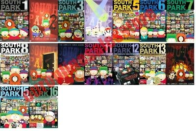 South Park TV Series Complete All 1-16 Seasons DVD Set Collection Episodes Show
