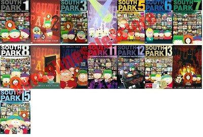 South Park TV Series Complete All 1-15 Seasons DVD Set Collection Episodes Show