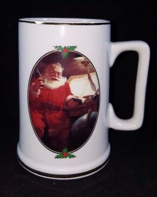 "1996 Coca-Cola Mug--Santa--Christmas--""good Boys And Girls""--Ultimate Source"
