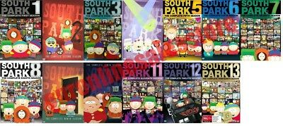South Park TV Series Complete All 1-13 Seasons DVD Set Collection Episodes Show