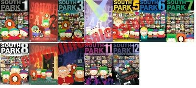 South Park TV Series Complete All 1-12 Seasons DVD Set Collection Episodes Show