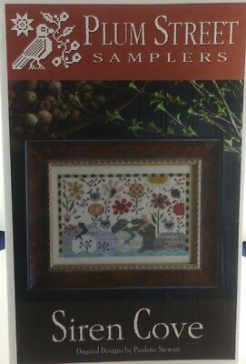 Plum Street Samplers Siren Cove Cross Stitch Pattern 2 Page's