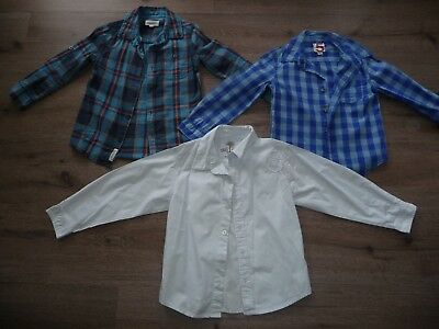 Bulk Lot of Boys Long Sleeve Shirts (incl. Milkshake) x 3 - size 5