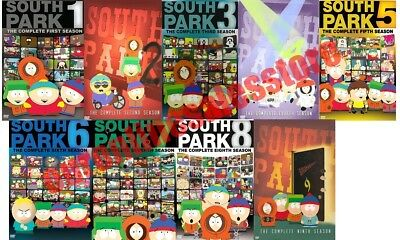 South Park TV Series Complete All 1-9 Seasons DVD Set Collection Episodes Show 2