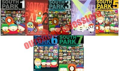 South Park TV Series Complete All 1-7 Seasons DVD Set Collection Episodes Show 2