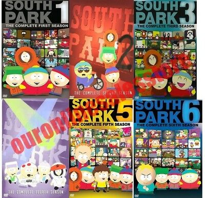South Park TV Series Complete All 1-6 Seasons DVD Set Collection Episodes Show 2