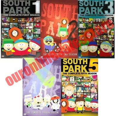 South Park TV Series Complete All 1-5 Seasons DVD Set Collection Episodes Show 2