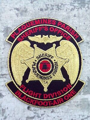 Air Support Aviation Flight Aero Unit Helicopter Police Sheriff Patch Abzeichen
