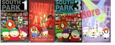 South Park TV Series Complete 1-4 Seasons DVD Set Collection Episode Show Comedy