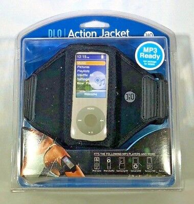 DLO Sport-Ready Neoprene Case for MP3 Players Action Jacket Brand New