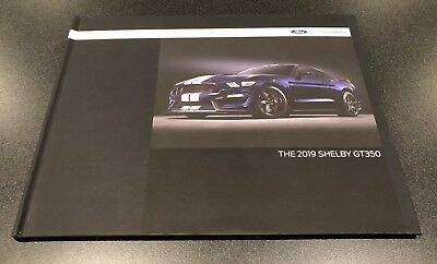 2019 Ford Mustang Shelby GT350 Hardcover Coffee Table Book RARE DEALER ONLY NEW