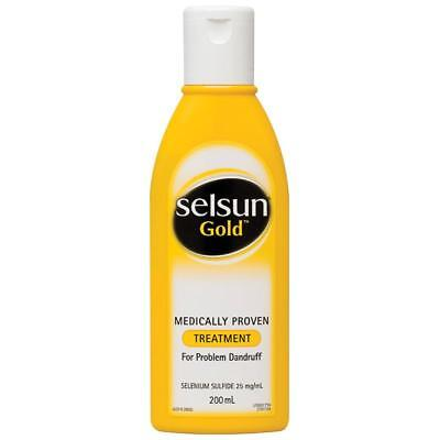 Selsun Gold Treatment 200Ml Medically Proven For Problem Dandruff