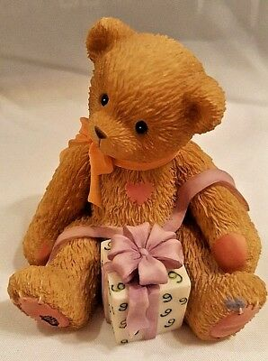 "Cherished Teddies Birthday Series Age 9 ""Being Nine Is Really Fine!""  1998 46625"