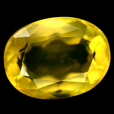11.36 Ct Natural Yellow Fire Opal Mexican Oval