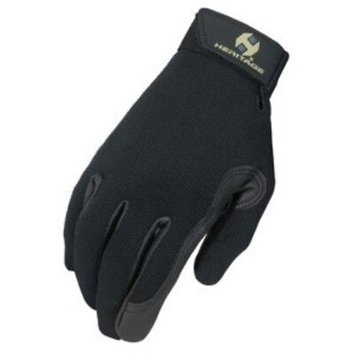 Heritage Performance Gloves Black