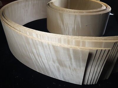 ENGLISH SYCAMORE VENEER,  3 SQUARE FT. FROM THIS ROLL 130mm wide. Cut to 32inch
