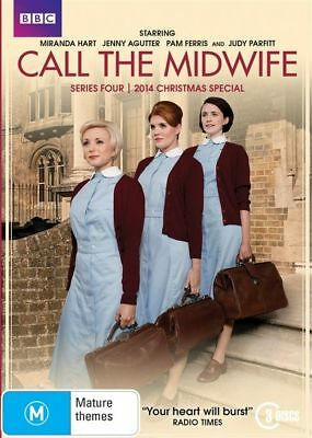 CALL THE MIDWIFE (with Christmas Special) : Series 4 (DVD, 2015, 3-Disc Set)