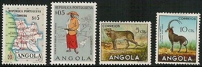 Lot 5294 - Angola 1953/55 Pictorials & Commemoratives Mint Hinged stamp select'n