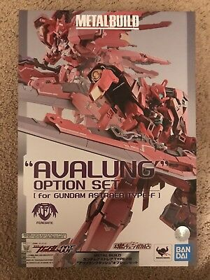 Metal Build Gundam Astraea Type F Avalung Set Exia 00