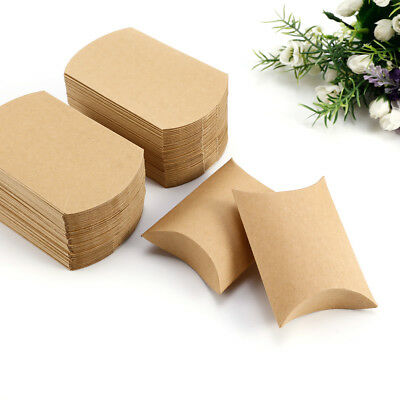 50 Eco Kraft Small Natural Gift Boxes Wedding Favour Chocolate| Free P&P