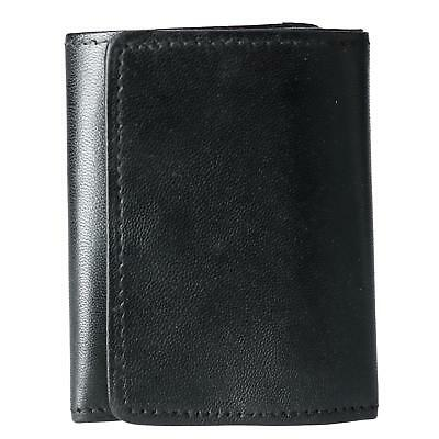 New CTM Men's Leather Snap Closure 2-in-1 Wallet and Key Case