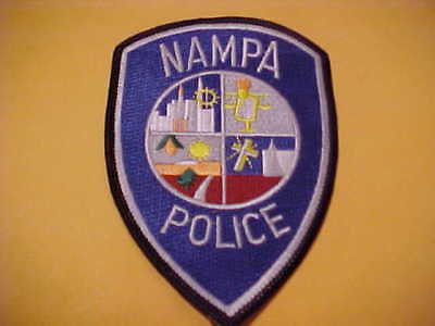 Nampa Idaho Police Patch  Shoulder Size Unused