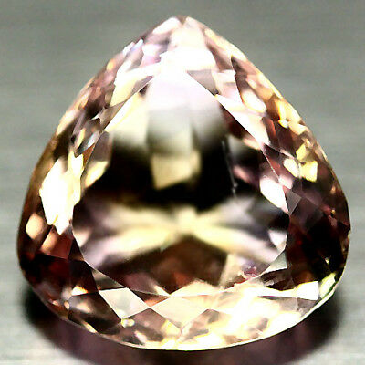 16.83 Ct Vvs Natural Purple & Golden Ametrine Bolivia Pear