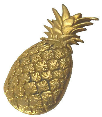 Pineapple Table Drawer Knobs Handmade Brass Cabinet Pull Door Handle Home Decor