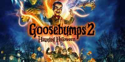 Goosebumps 2: Haunted Halloween(2018) Digital UHD code WATCH NOW!!! dvd included