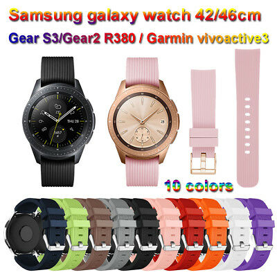 poignet bracelet sangle For Samsung Galaxy Gear S3 Frontier 42mm 46mm Watch