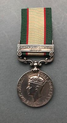 India General Service Medal 1936-39 to the Rajput infantry Regiment