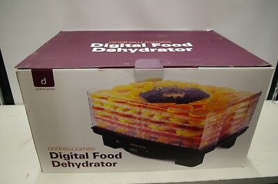 Boxed Andrew James Digital Food Dehydrator